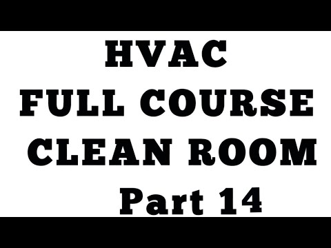Clean Room part 14 ll HVAC Questions and Answers