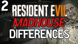Resident Evil 7: Madhouse Mode Differences Part 2