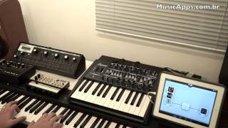 Fritha Alone (Camel): iPad Music Apps and Yamaha P95