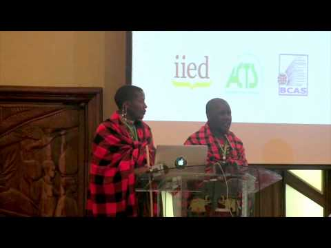 CBA9 opening ceremony: Salaton Ole Ntutu and Stephen Ole Kisotu (Maasai)