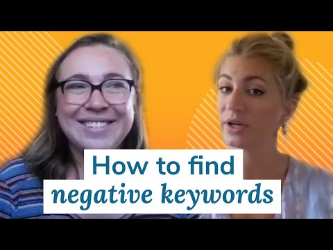 How to Find Negative Keywords   Monday Marketing Minute by Oneupweb