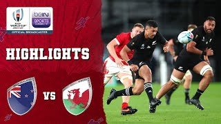 New Zealand 40-17 Wales | Rugby World Cup 2019 Match Highlights