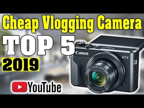 TOP 5: Best Cheap Vlogging Camera 2019