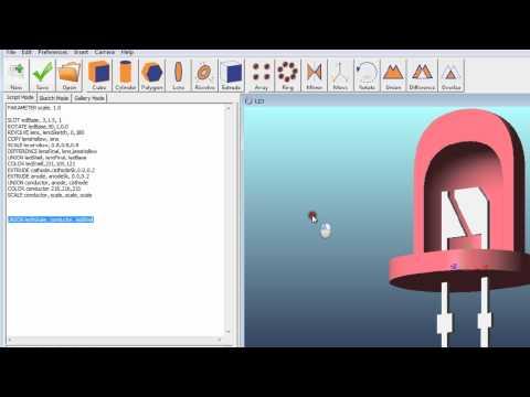 Zemax Part Designer in Zemax 12 Release 2 - YouTube