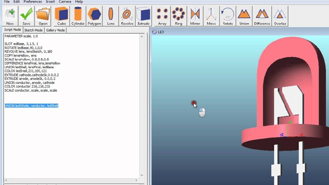 Zemax Part Designer in Zemax 12 Release 2