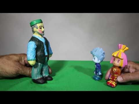 Фиксики на татарском языке  - выпуск 1 (мультик с игрушками)   Фиксиклар татарча мультфильм