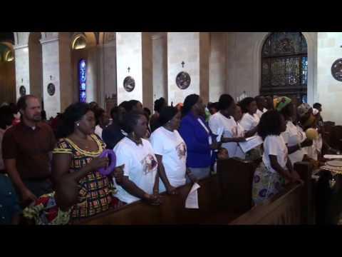 OMAHA NEBRASKA SOUTH SUDANESE CATHOLIC COMMUNITY CELEBRATING ST, DANIEL COMBONI DAY