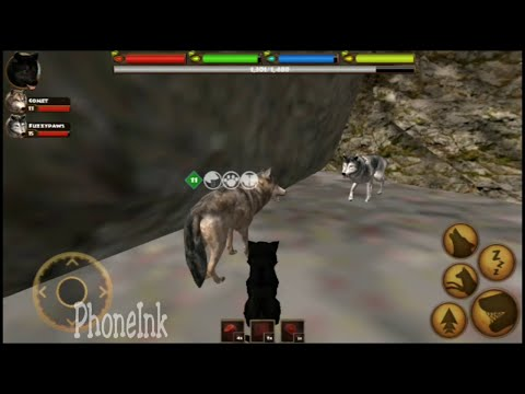 How to get a puppy (baby wolf) in Ultimate Wolf Simulator By Gluten Free Games