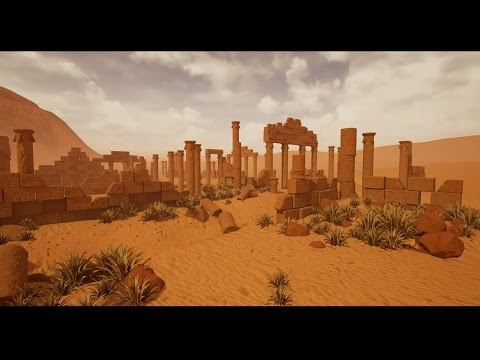Making of Desert Ruins 3ds max - Unreal Engine tutorial part- 1