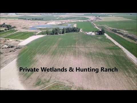 Private Wetlands & Hunting Ranch For Sale