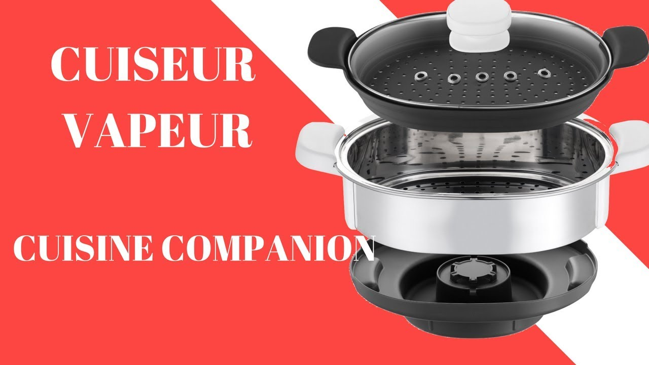 cuiseur vapeur pour robot cuisine companion youtube. Black Bedroom Furniture Sets. Home Design Ideas