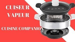 Cuiseur Vapeur pour Robot Cuisine Companion