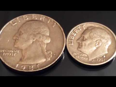 Rare and Expensive US Coins 1981 P Quarter and Daim Error Coins