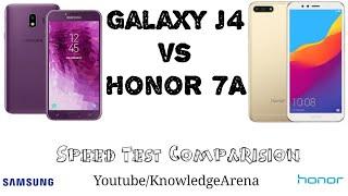 Samsung Galaxy J4 vs Honor 7A Speed Test [Urdu/Hindi]