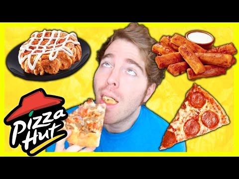 TASTING PIZZA HUT FOODS