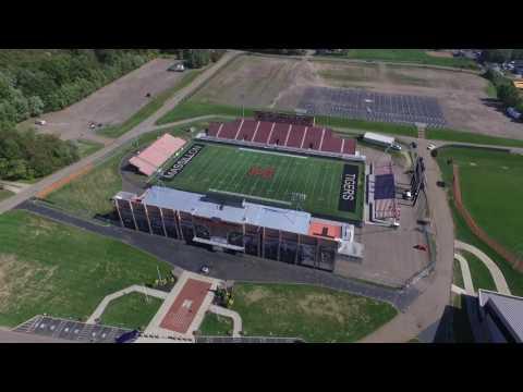 Drone Video Of Canton Ohio