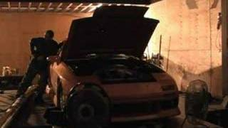 Mazda RX7 FC with 20B Rotary Dyno pull