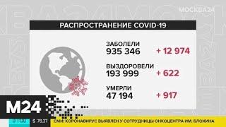 Количество заболевших COVID-19 в мире достигло 935 346 человек - Москва 24