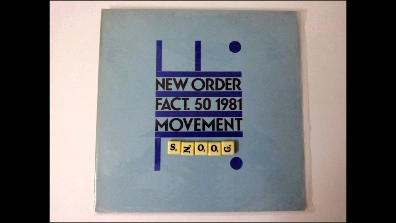 New Order -- Dreams Never End - YouTube
