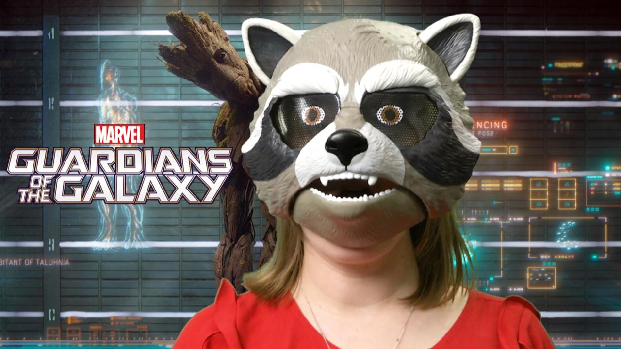 Marvel Guardians of the Galaxy Rocket Raccoon Mask from Hasbro