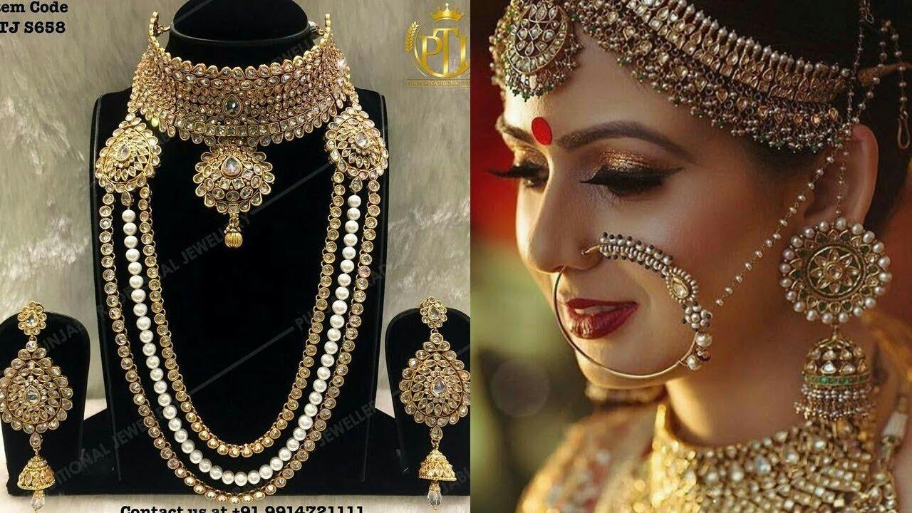 Latest & Random Stylish Bridal Jewellery Design/ Stylish Beautiful ...