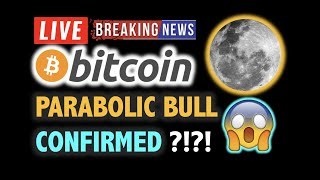 BITCOIN Confirmed PARABOLIC BULL MARKET?