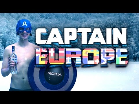 Captain Europe (Captain America Parody)