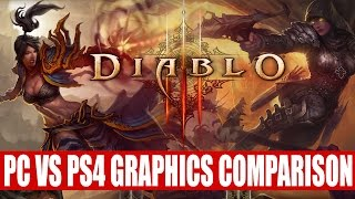 Diablo 3 Playstation 4 Vs PC Highest Settings | Which Is The Ultimate Evil Edition