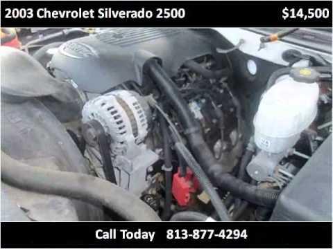 2003 Chevrolet Silverado 2500 Used Cars Tampa FL - YouTube