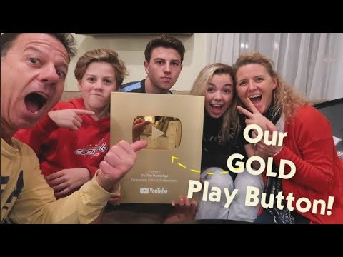 It's Unboxing Our GOLD Play Button! + New Contacts & Kitty Visits