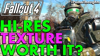 is fallout 4 s high resolution texture pack worth it patch 1 9 pumathoughts