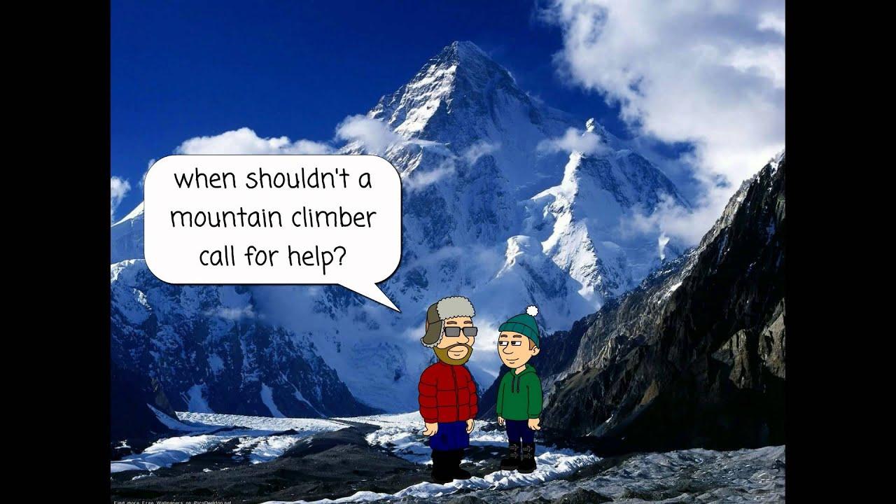 Funny Mountain Climbing Joke