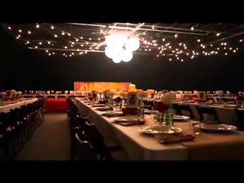 Time Lapse Video Of A Wedding Reception Setup Goal Line