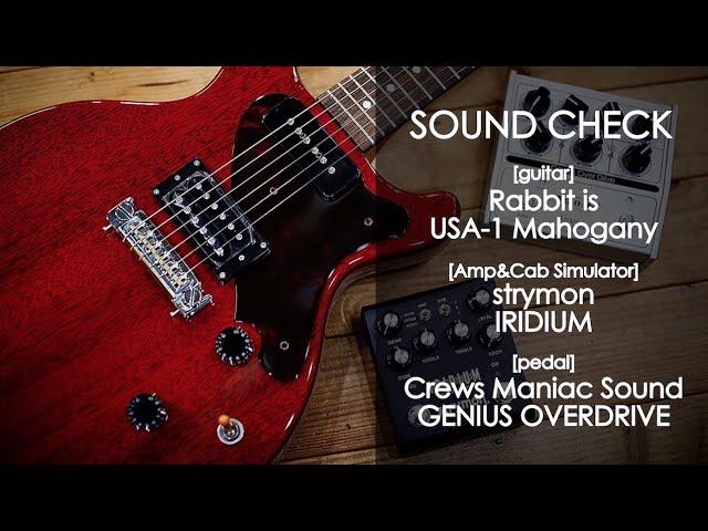 [SOUND CHECK]Rabbit is USA-1×Crews G.O.D×strymon IRIDIUM
