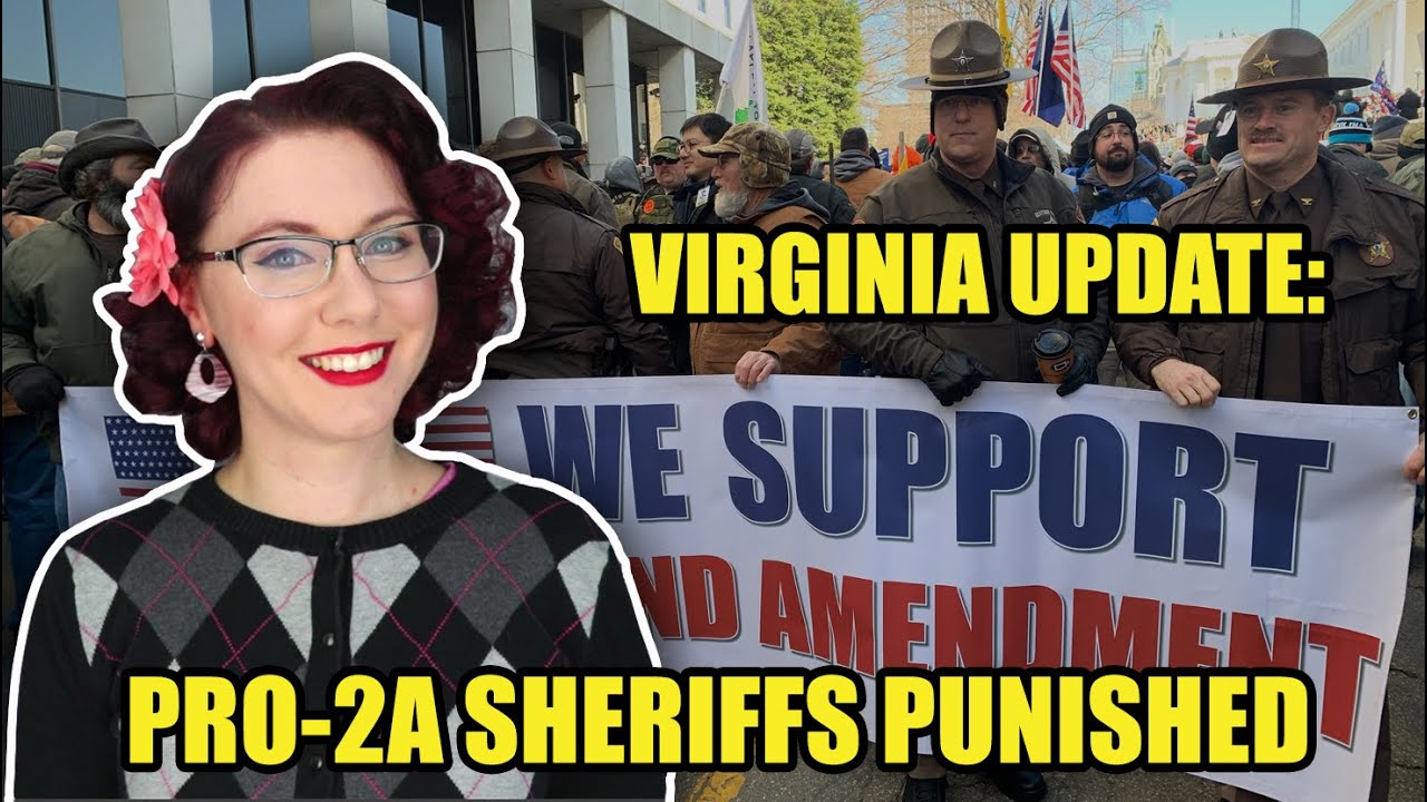 Virginia 2A Update: AWB Done, Sheriffs Punished