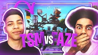 THE CRAZIEST FORTNITE BUILDOFF EVER! 😳 BETTER FORTNITE CLAN THEN TSM | 4v4 FORTAVELLI BUILDOFF