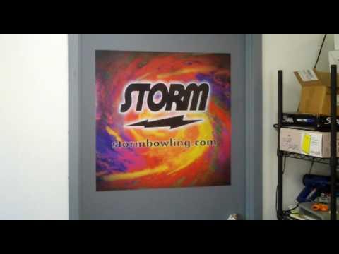 How to install large vinyl decal to window, door, truck, trailer, etc.