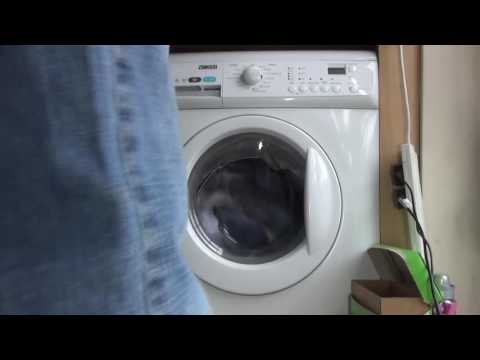 Zanussi Aquafall ZWHB7160 : Synthetics + extra rinse : wash phase (Pt 1 of 2)