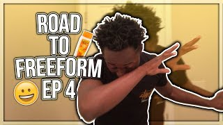 WASHING MY HAIR AFTER A MONTH! | Road to Freeform EP 4