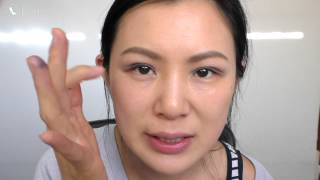 Simple quick purple eye makeup Thumbnail