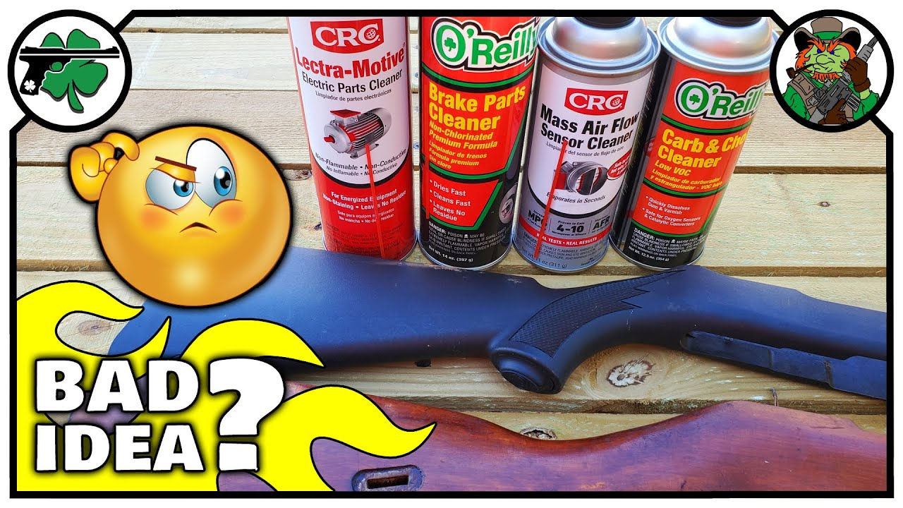 Cleaning Firearms With Automotive Cleaners   What Happens