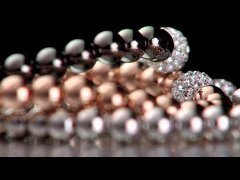 Pure Attraction Large CZ Bead Bracelet