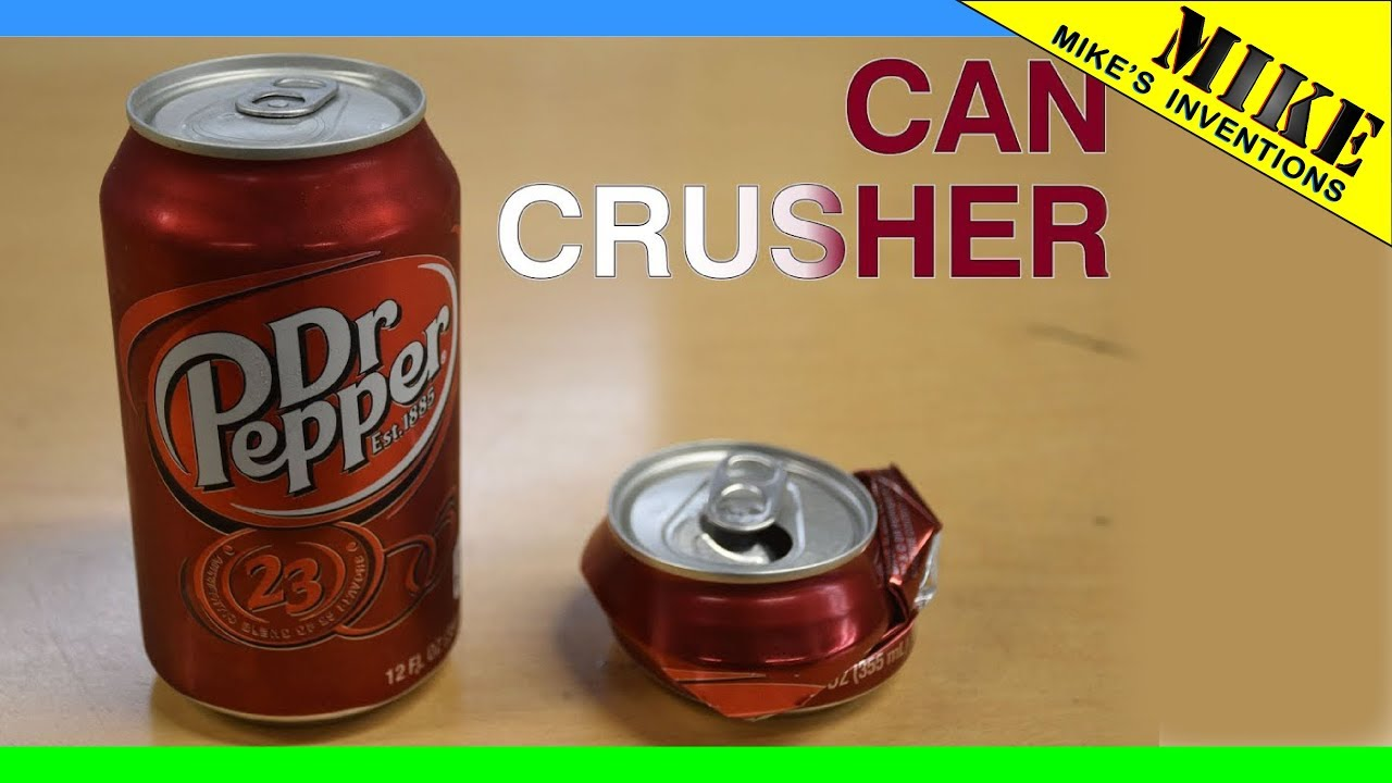 Simple DIY Can Crusher - Mikes Inventions