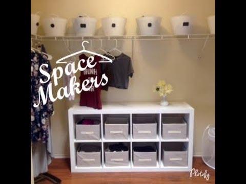 Dollar Tree And EBay DIY | CLOSET MAKEOVER   YouTube