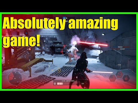 Star Wars Battlefront 2 - The most amazing PTFOing game! | IT WAS SOOO CLOSE! (Kylo, Vader)