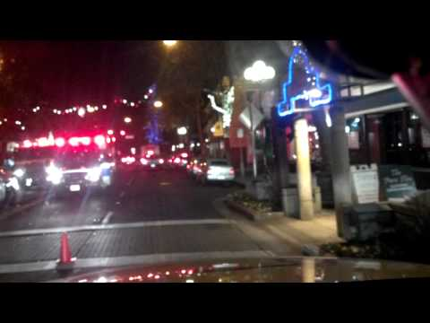 Accident in Downtown Willow Glen, San Jose, CA