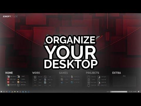Organize Your Windows 10 Desktop! (FREE 2017)