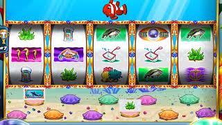 GOLD FISH 2 Video Slot Casino Game with a CLOWN FISH BONUS