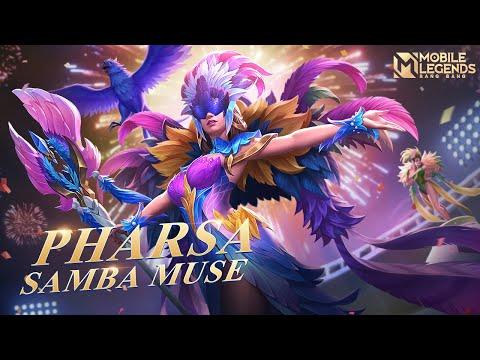 Pharsa New Skin  Samba Muse  Mobile Legends :Bang Bang