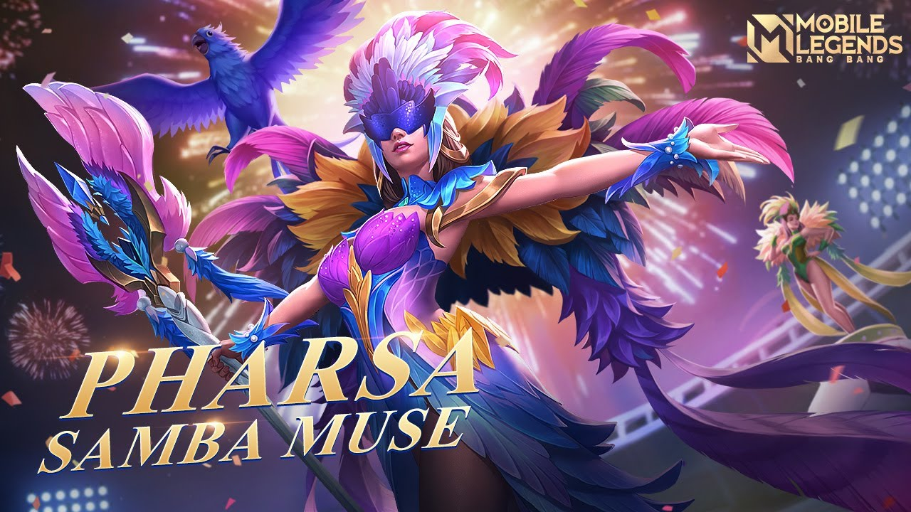 Pharsa New Skin |Samba Muse| Mobile Legends :Bang Bang